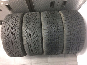 (2) 225/45R17 & (2) 255/35R18 Nokian tires with rims for VW