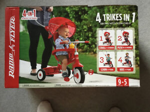 3 in 1 baby tricycle