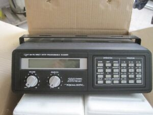 Brand New Vintage Realistic Pro-2021 Receiver scanner Now! 200 $