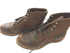 Red Wing Heritage Mens Iron Ranger 6 inch Boots, Size 11.5