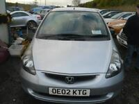 2002 HONDA JAZZ 1.4i DSI S 5dr IDEAL STARTER VEHICLE trade in to clear