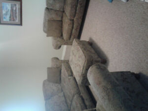 Couch,Love Seat ,Chair and Ottoman
