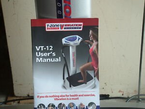 T-ZONE VIBRATION HEALTH TECHNOLOGY VT-12 Stratford Kitchener Area image 3