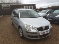 VOLKSWAGEN POLO 1.2 E 5DR 2005 * IDEAL FIRST CAR * CHEAP INSURANCE * LOW MILEAGE * FULL SERVICE HIST