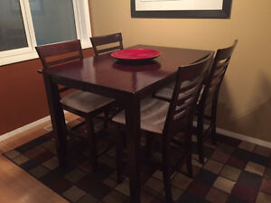 Large Bistro Table & Chairs for Sale