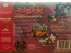 Selling Banjo Kazooie. N64 with box and manual