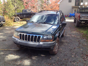 2000 jeep grand cherokee parting out