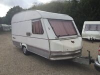 1994 SPRITE MUSKETEER 4 5 BERTH TOURING CARAVAN WITH AWNING