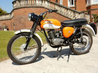 BSA BANTAM BUSHMAN BB175 1970 MATCHING NUMBERS