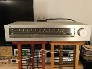 Vintage JVC FM/AM Stereo Tuner T-10X (Made in Japan)