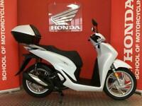HONDA SH125i 2021 WHITE - BRAND NEW