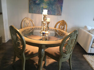 Ashley Furniture Dining Table and chairs