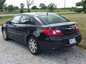 2008 Black Chrysler Sebring Sedan
