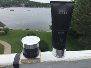 MONAT Black Cream Shave and Groom Styling Clay
