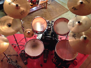Ludwig accent drum kit Kitchener / Waterloo Kitchener Area image 2