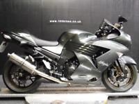 06/06 KAWASAKI ZX ZZR 1400 A6F EXTRAS 3 OWNERS 32,000 MILES