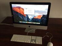 Apple iMac 21.5 inch late 2011 model