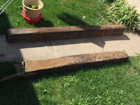 Post, Retaining Walls, Parking Block and Railroad Ties