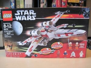 Lego 6212 Star Wars X-Wing fighter  année 2006 boite scellée