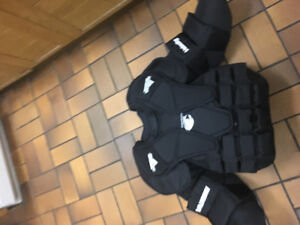 New Vaughn Pro Chest Protector. Size Large