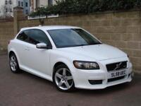 FINANCE AVAILABLE!! 2008 VOLVO C30 1.6 R-DESIGN SPORT 2dr, 1 FORMER KEEPER,