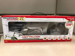 R/C falcon helicopter