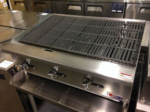 "US Cooking 36"" Radiant Charbroiler"