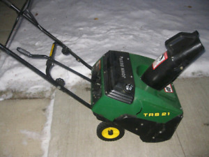 We pick up unwanted snow blowers tractors etc..416 841 3808
