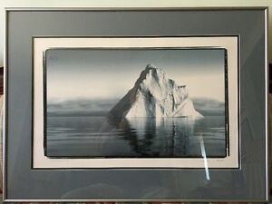 Rare limited edition iceberg photo from FPI, framed and glazed