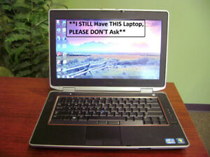 "i5 Dell 14"" Laptop, 4 GB Ram, 320 GB HDD, HDMI, Win 7"