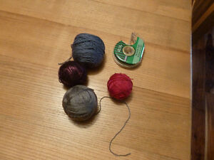 4 part balls of sock yarn