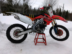 2013 Honda crf250r - with papers