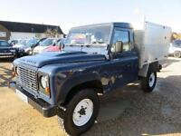 2013 13 LAND ROVER DEFENDER 110 4X4 TIPPER WITH FORESTRY BODY 2.2 TDCI 122 BHP 4