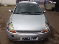 Ford ka 1.3 petrol manual mil 90k 1 year mot