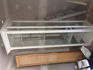 Glass Case Shelving Unit