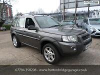 LAND ROVER FREELANDER TD4 HSE 4x4 F.S.H Diesel Automatic Excellent Example, Grey