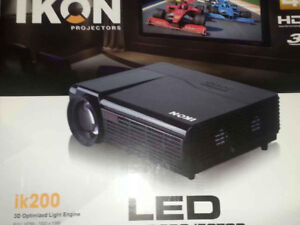 LED 3D Projector w/ 72 inch screen
