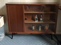 1960s bookcase/display cabinet
