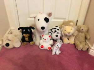 Large plush toy lot, ty Juneau beanie baby; lego monopoly risk