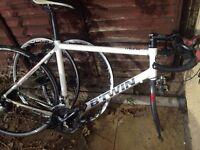 Racer 'road bike' B-twin triban 300