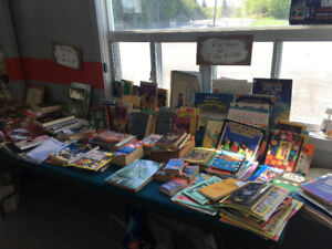 BOOKS FOR SALE, MAY 19TH AT OUR MEGA YARD SALE!