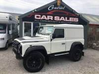LAND ROVER DEFENDER 2.5 90 HARD-TOP TD5 120 BHP DIESEL FINANCE PX AVALIABLE