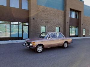 *61$/sem* BMW 2002 'roundies' 1973 manuelle véhicule très rare!