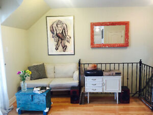 Two bedroom sublet from July to August