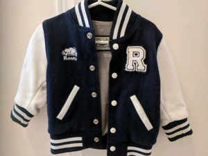 Limited edition toddler Roots jacket