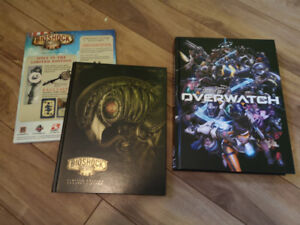 Artbook et strategy guide