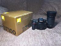 Nikon D7100 excellent condition & Lens