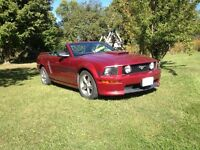 2007 Ford Mustang GT Convertible California Special
