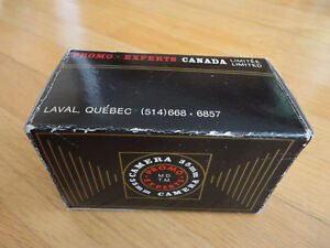 Vintage Promo Experts 35 mm camera with case and original box London Ontario image 2