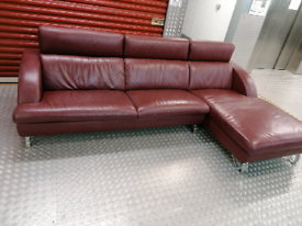 Hong Kong Designer real Leather corner sofa delivery available today